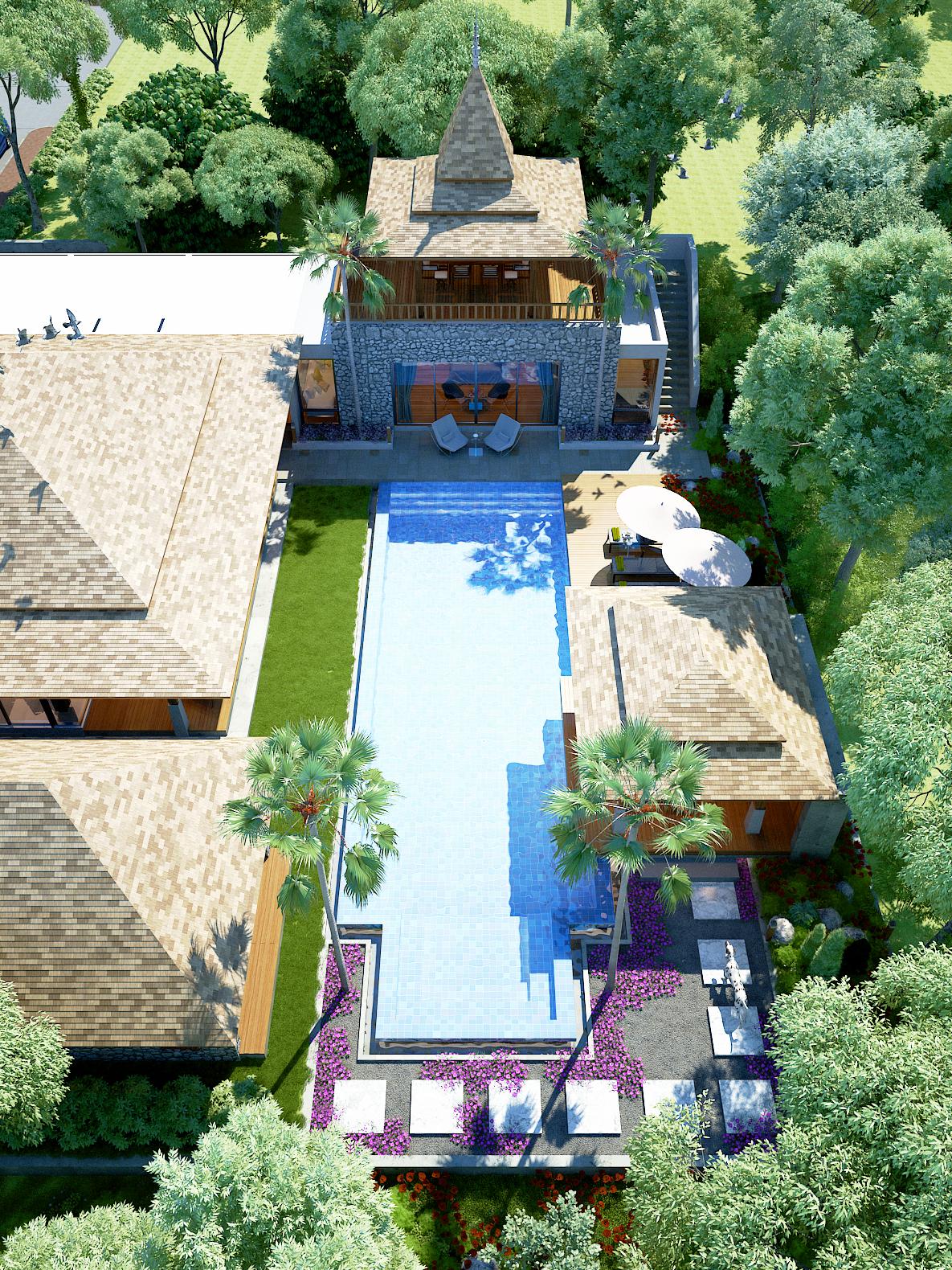Luxury balinese villas in Bang Tao Beach - SkyProperty