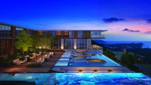 Brand new seaview project in Karon