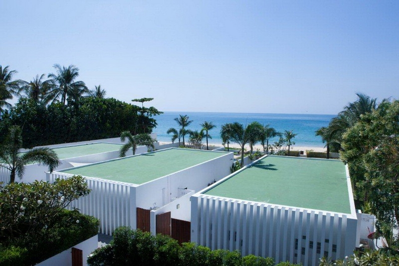 Luxury villas in Natai beach
